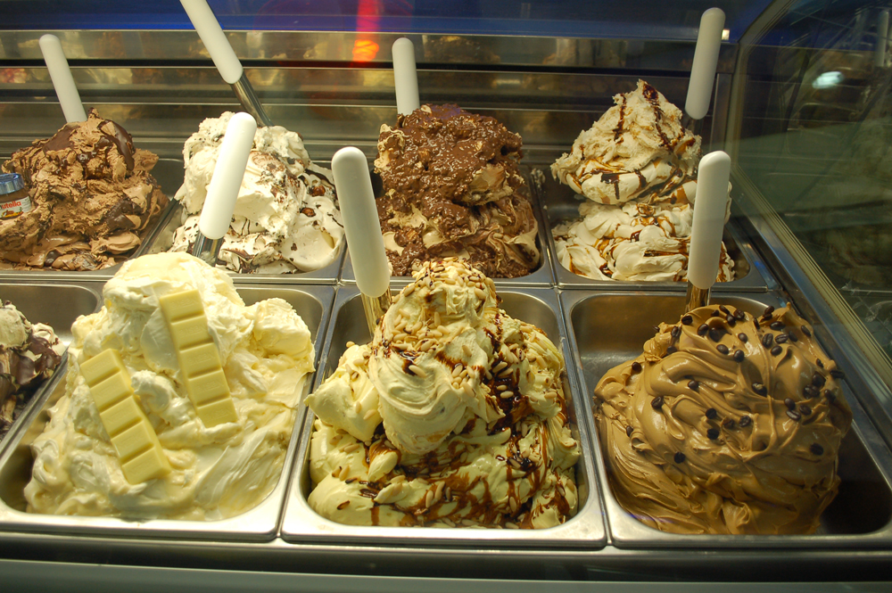 gelato alle creme artigianale